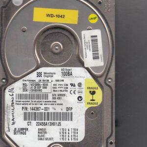 Western Digital WD100BA-60AK 10GB