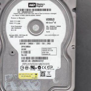 Western Digital WD800JD-75MSA3 80GB