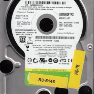 Western Digital WD1000FYPS-01ZKB0 1TB