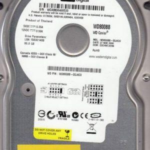 Western Digital WD800BB-55JKC0 80GB