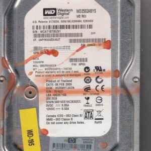 Western Digital GB0250EAFYK 250GB