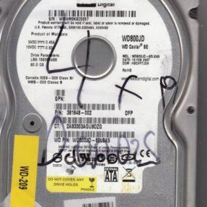 Western Digital WD800JD-60LSA5 80GB