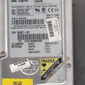 Western Digital AC13200-60RN 3249MB
