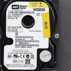 Western Digital WD800JD-60LSA0 80GB