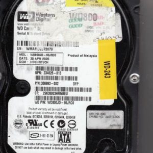 Western Digital WD800JD-60JRC0 80GB