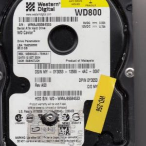 Western Digital WD800JD-75HKA1 80GB