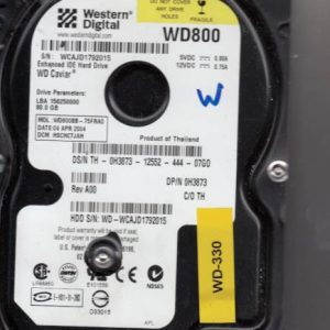 Western Digital WD800BB-75FRA0 80GB