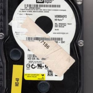 Western Digital MY0C9771125556A90041 80GB