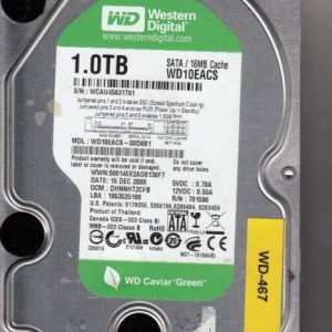 Western Digital WD10EACS-00D6B1 1TB