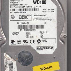 Western Digital WD100BB-60BCB0 10GB