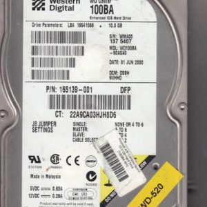 Western Digital WD100BA-60AGA0 10GB