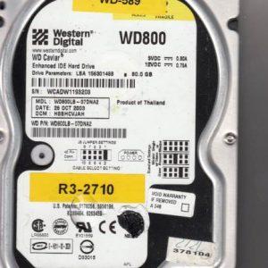 Western Digital WD800LB-07DNA2 80GB