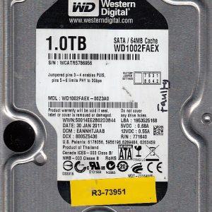 Western Digital WD1002FAEX-00Z3A0 1TB