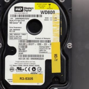Western Digital WD800JD-75MSA1 80GB