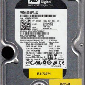 Western Digital WD1001FALS-75J7B0 1TB