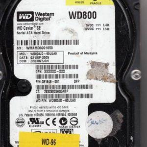 Western Digital WD800JD-60LUA0 80GB