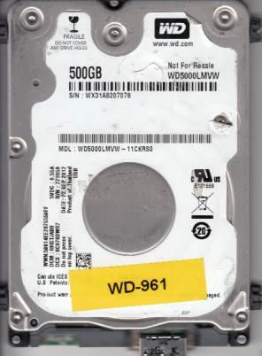 Western Digital WD5000LMVW-11CKRS0 500GB