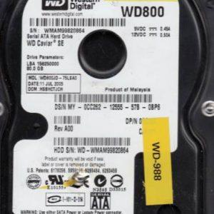 Western Digital WD800JD-75LSA0 80GB