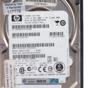 HP EGO146FARTR 146GB
