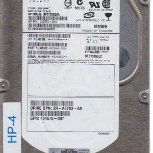 HP BF0728B26A 72.8GB