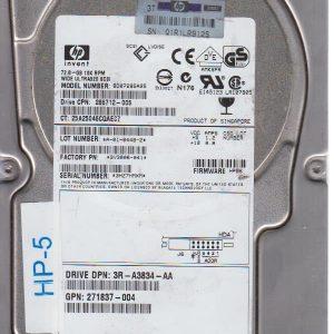 HP BD07285A25 72.8GB