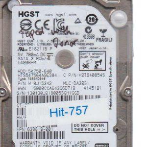 Hitachi HTS547564A9E384 750GB