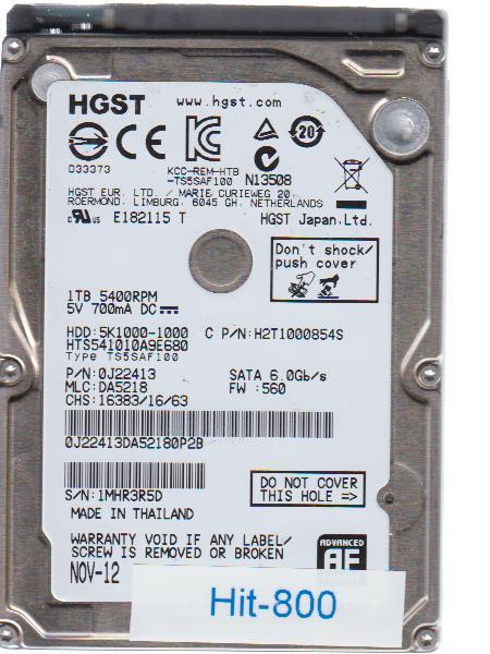 Hitachi HTS541010A9E680 1TB