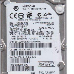 Hitachi HTS725050A9A364 500GB
