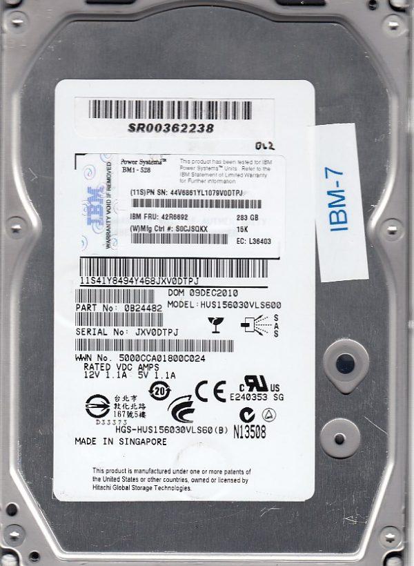 IBM HUS156030VLS600 283GB