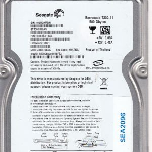Seagate ST3500320AS 500GB
