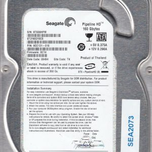 Western Digital WD5000BEVT-00A0RT0 500GB