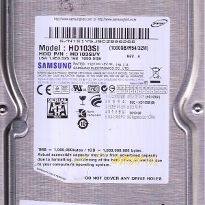 Samsung HD103SI 1000GB