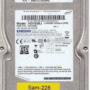 Samsung HD103SJ 1000GB