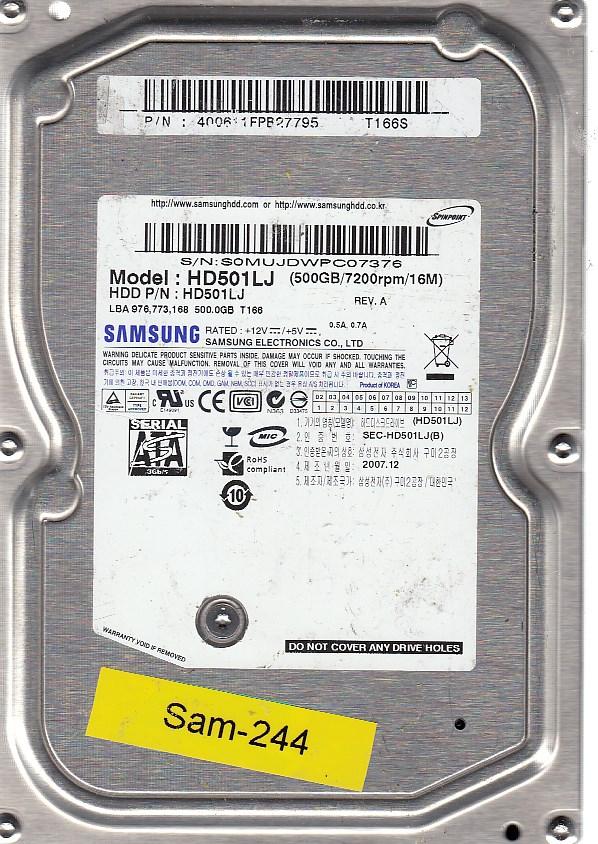 Samsung HD501LJ 500GB