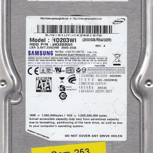 Samsung HD203WI 2000GB