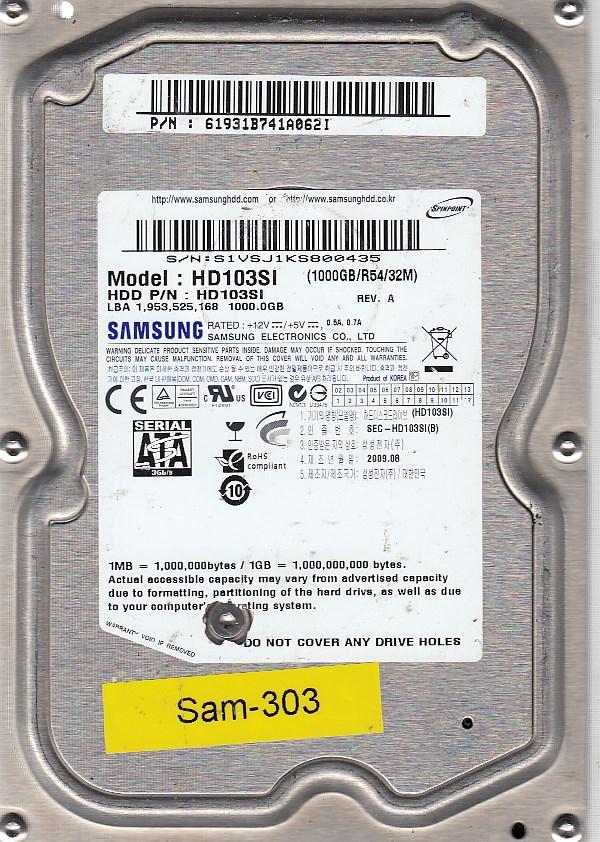 Samsung HD103SI 1000GB