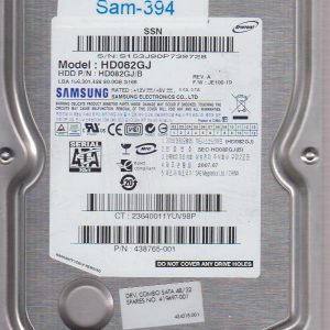 Samsung HD082GJ 80GB