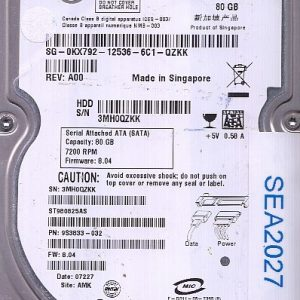 Seagate ST980825AS 80GB
