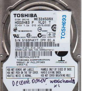 Toshiba MK3265GSX 320GB