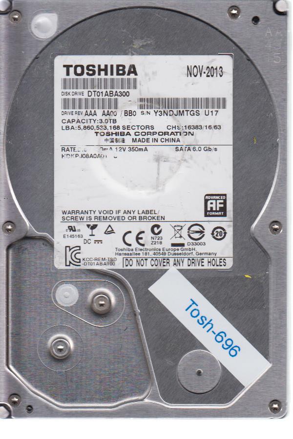 Toshiba DT01ABA300 3TB
