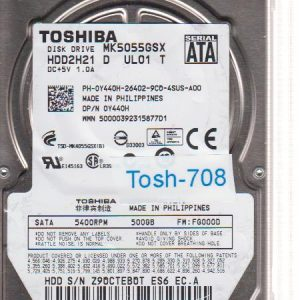 Toshiba MK5055GSX 500GB