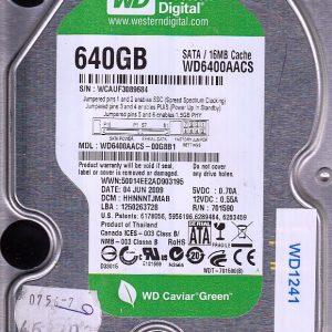 Western Digital WD6400AACS-00G8B1 640GB