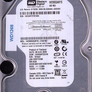Western Digital WD5002ABYS-01B1B0 500GB