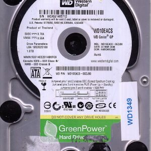 Western Digital WD10EACS-00ZJB0 1TB