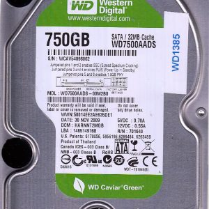Western Digital WD7500AADS-00M2B0 750GB