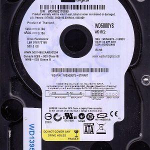 Western Digital WD5000YS-01MPB1 500GB