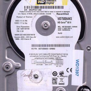 Western Digital WD7500AAKS-00RBA0 750GB