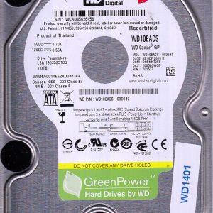Western Digital WD10EACS-00D6B0 1TB