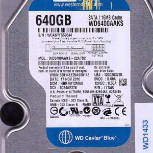 Western Digital WD6400AAKS-22A7B2 640GB