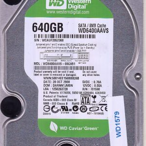 Western Digital WD6400AAVS-00G9B1 640GB